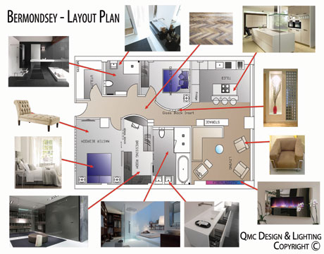Interior design items